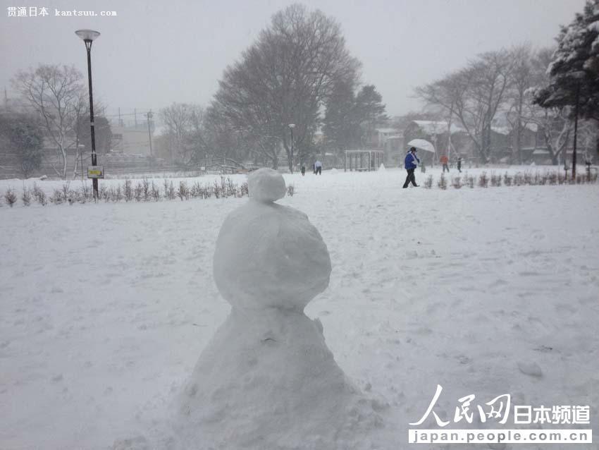 【独家高清】日本普降大雪 东京时隔16年出现10厘米积雪【3】