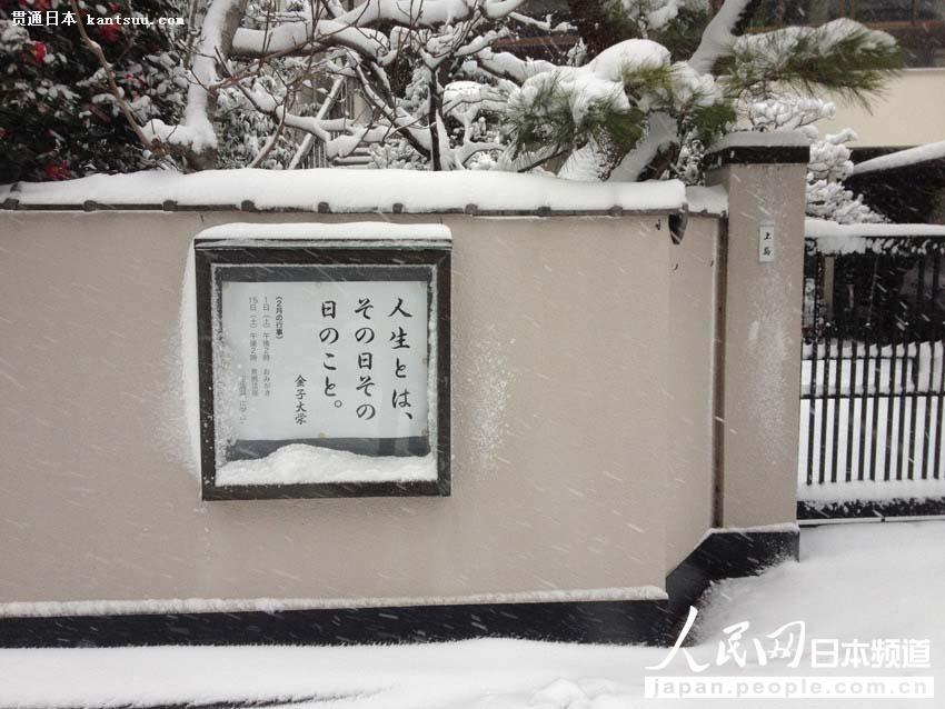 【独家高清】日本普降大雪 东京时隔16年出现10厘米积雪【5】
